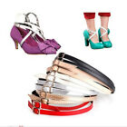 Detachable PU Leather Shoe Straps Laces Band for Holding Loose High Heeled YJVV