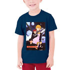 Legend of the Galactic Heroes Boys Round Neck Shirts Kids Cotton Top Tee Summer