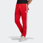 Adidas Men's SST Track Pants, Lush Red