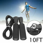 Gym Aerobic Exercise Boxing Skipping Jump Rope Bearing Speed Fitness F7