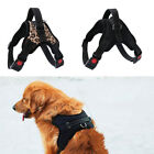 Nylon Safety Reflective Puppy Pet Padded Vest Dog Harness Adjustable Non Pull