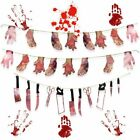 Bloody Garland Halloween Party Halloween Banner Party Decorations Supplies