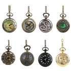 THE GREATEST Retro Vintage Pocket Watch Necklace Chain Grandpa DAD Best Gift