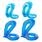 Durable Inflatable Swim Ring Kids Adults Swimming Floats Bathing Floaty Toys