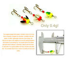 WORDENS SPIN-N-GLO FLY SPINNER POPPER LURE TROUT SALMON