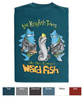 WEIRD FISH PRINTED T SHIRT -'Crayfish Twins' - 2010