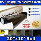 "Window Tint UV Solar Film 20""x10' Roll car home office"