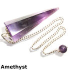 Crystal Gemstone Point Dowsing Pendulum Scrying Dowser