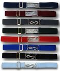 Traditional School Uniform Snake Belt - Metal 'S' Clasp Adult Size Many Colours
