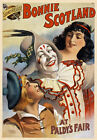 TH88 Vintage Bonnie Scotland Theatre Poster  A1 A2 A3