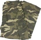 George Men's Cargo Pant Combat Trousers Green/Beige Style 2 *New*