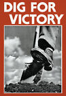 2W83 Vintage WWII British Dig For Victory Classic War Poster Print WW2 A2 A3