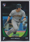 Alex Presley Pittsburgh Pirates 2011 Bowman Draft Refractor Rookie Card. rookie card picture