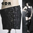 PUNK VISUAL KEI BLACK STUB SLIM K138 SHORT PANTS S-XXL
