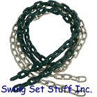 SWING SEAT CHAIN 5 1/2 FT COATED PAIR - SET PLAYGROUND OUTDOOR PARK KID FUN 0054