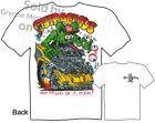 Outrageous 1957 Chevy Rat Fink T shirt, 57 Ed Roth Shirt Tee M L XL 2XL 3XL
