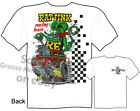 1940 Woody Rat Fink T shirt Big Daddy Clothing 40 Ford HotRod Tee M L XL 2XL 3XL