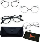 Black Silver Round Oval Reading Glasses Readers Spring Hinge John Lenon Harry Po