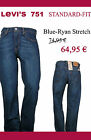 Levi`s Jeans 751 Blue Ryan Stretch   W36/L34   nur 64,95€