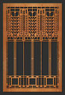"Frank Lloyd Wright MARTIN Triple Tree Window Design WALL Element 35.5""h CHOICE"