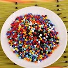 180g Different Color Glass Seed Jewelry Finding DIY Beads 3mm Dia