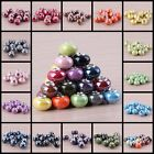 Wholesale Porcelain Ceramic European Charm Spacer Big Hole Beads Fit Bracelet