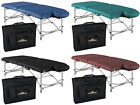 Stronglite Versalite Pro Portable Massage Table Package w/ Case and Dlx Headrest