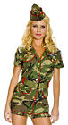 Thin Red Line Cadet Army Soldier Costume, Music Legs 70261, 3 Piece, Size M/L XL