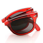 Jolly Rancher Color Transparent Folding Pocket Shades Sunglasses 8612 SD Lens