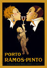 AZ06 Vintage 1920 Porto Ramos-Pinto Port Wine Alcohol Advertisement Poster A4