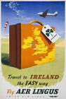 TX33 Vintage 1950's Travel To Ireland Irish Travel Poster Re-Print A1/A2/A3