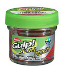 Berkley Gulp Alive!  Maxi Bloodworms  £4.49 each or 3 for £11.50 or 5 for £17