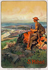 W15 Vintage WWI French St. Mihiel World War Military Poster WW1 Re-Print A4