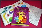 MINI A6 MOSHI MONSTER CREATE ACTIVITY STICKER BOOK CHILDRENS PARTY BAG FILLERS