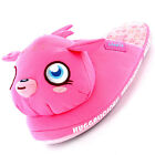 Girls Size 10 - 2 MOSHI MONSTERS Pink 3D Novelty Slippers POPPET New