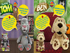 "NEW 12"" TALKING TOM OR BEN - ANIMATED SOFT PLUSH TALK BACK TOYS KIDS IPHONE"