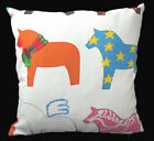 AL109a Animal Horse Kid's Cotton Canvas Cushion Cover/Pillow Case *Custom Size