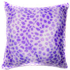 Ff12a Faux Fur Purple Leopard Skin Print Cushion Cover/Pillow Case*Custom Size