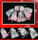 NEW BABY BOYS OR BABY GIRLS SOCKS INFANT SHOE SOCKS BLACK PINK BLUE 0-6M 6-12M