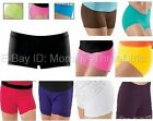 New Dance Gymnastics Cheer Booty Mini Bar Shorts Hot Pants Teen or Adult Sizes
