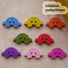 Mixed Car 17mm Wood Buttons Sewing Scrapbooking Craft NCB020