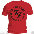 FOO FIGHTERS Wasting Light T Shirt Red OFFICIAL S M L XL XXL
