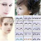 Fancy Stage Party Lady Makeup False Eyelashes Eye Lashes Paper Cutting Elegant