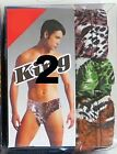 S M L XL 3-Pack Low Rise Briefs Soft Colorful Animal Print Mens Brief Underwear