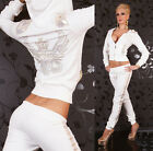 HOT & SEXY FULL TRACKSUIT WITH HOOD JOGGING SUIT BY REDIAL Size 8-12
