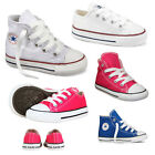 Infant Toddlers All Star Hi Lo  Chuck Taylor Ct Hi Trainers Shoes UK Size 2-10