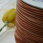 "3mm 1/8"" Brown Velvet Ribbons Craft Sewing Trimming Scrapbooking #114"