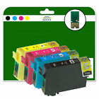 1 Full Set of non-original Printer Ink Cartridges for the Epson E1281-4 Range