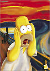 Poster Simpsons - Homer scream - Matt Groening