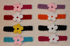 Handmade Baby/Toddler Headbands LOT OF 8 You choose Size